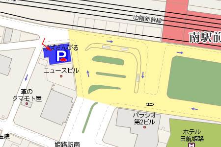 じばさんびる駐車場画像マップ画像