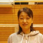 ヴィクトリーナ・ウインク体育館短期バドミントン教室 藤田 和美 講師 写真