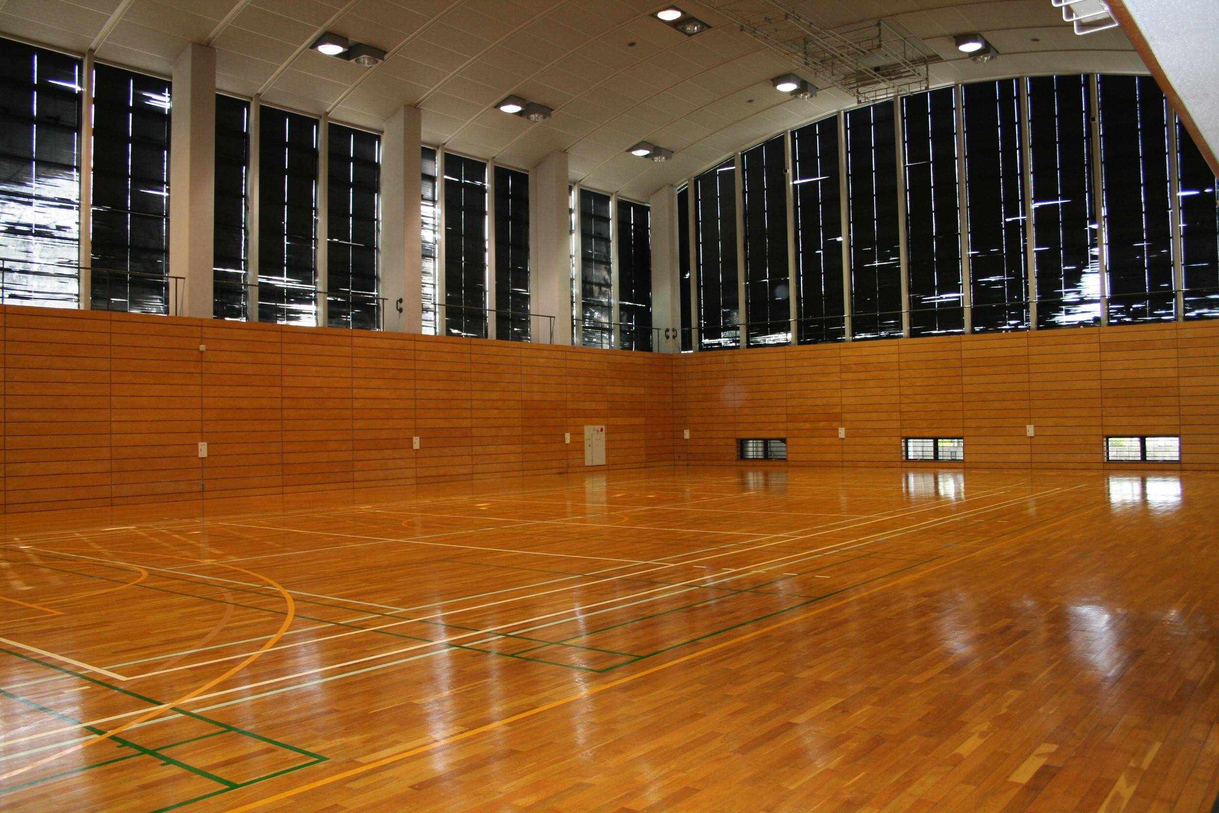 ヴィクトリーナ・ウインク体育館第二競技場画像