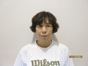 バドミントン教室 地神 京子 講師 写真
