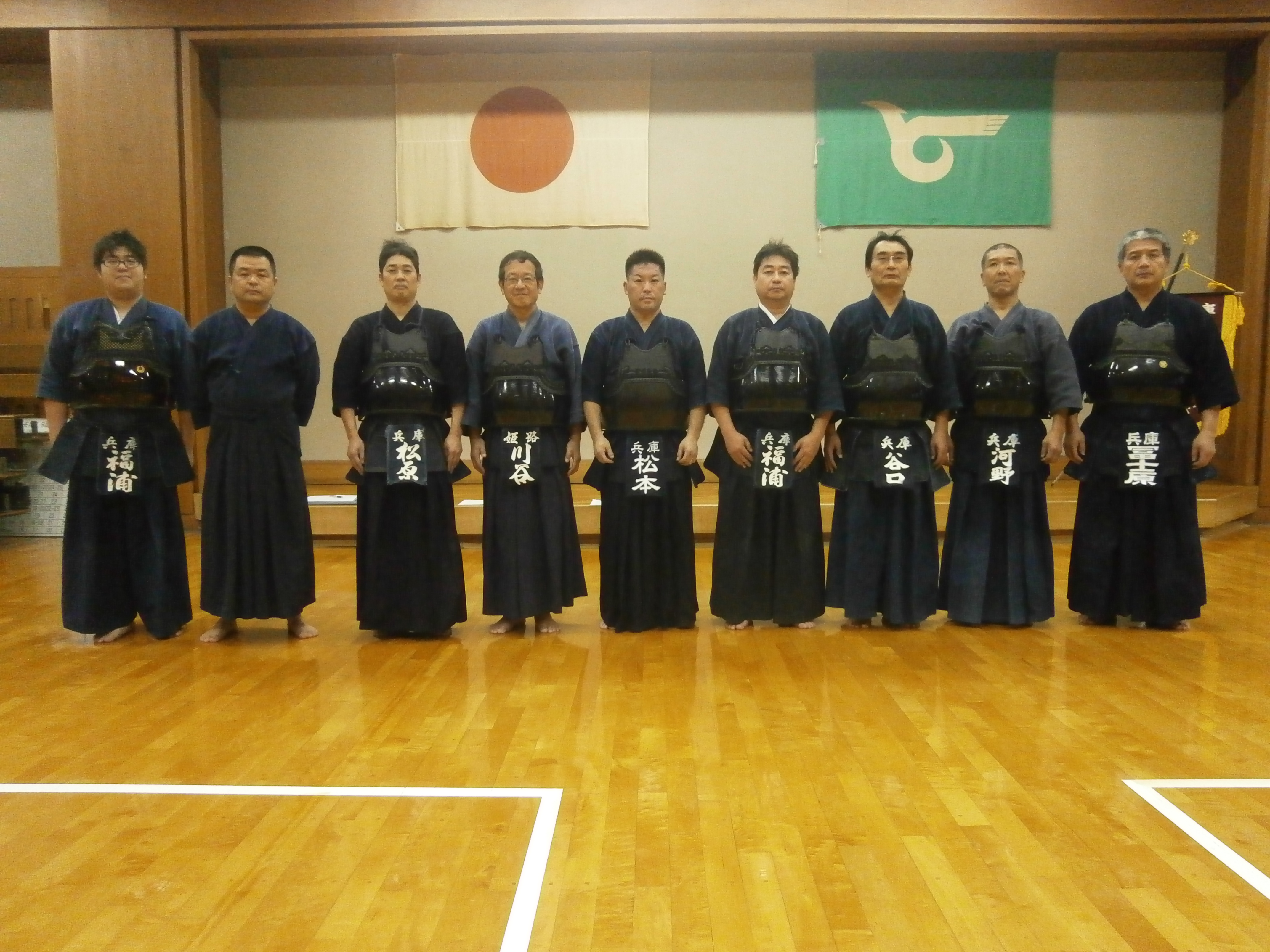 剣道講師一同写真
