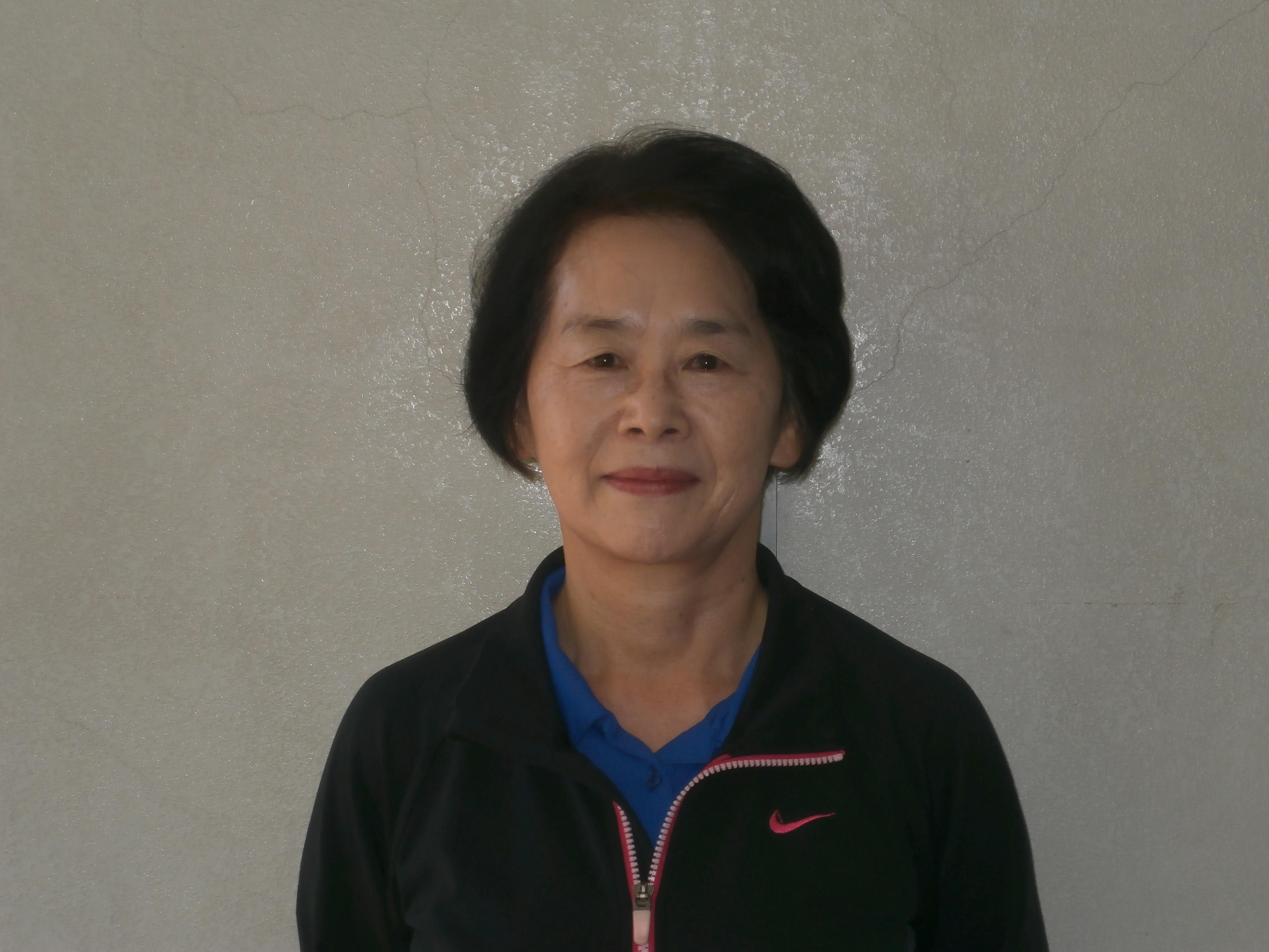 卓球教室 角 絵津子 講師 写真