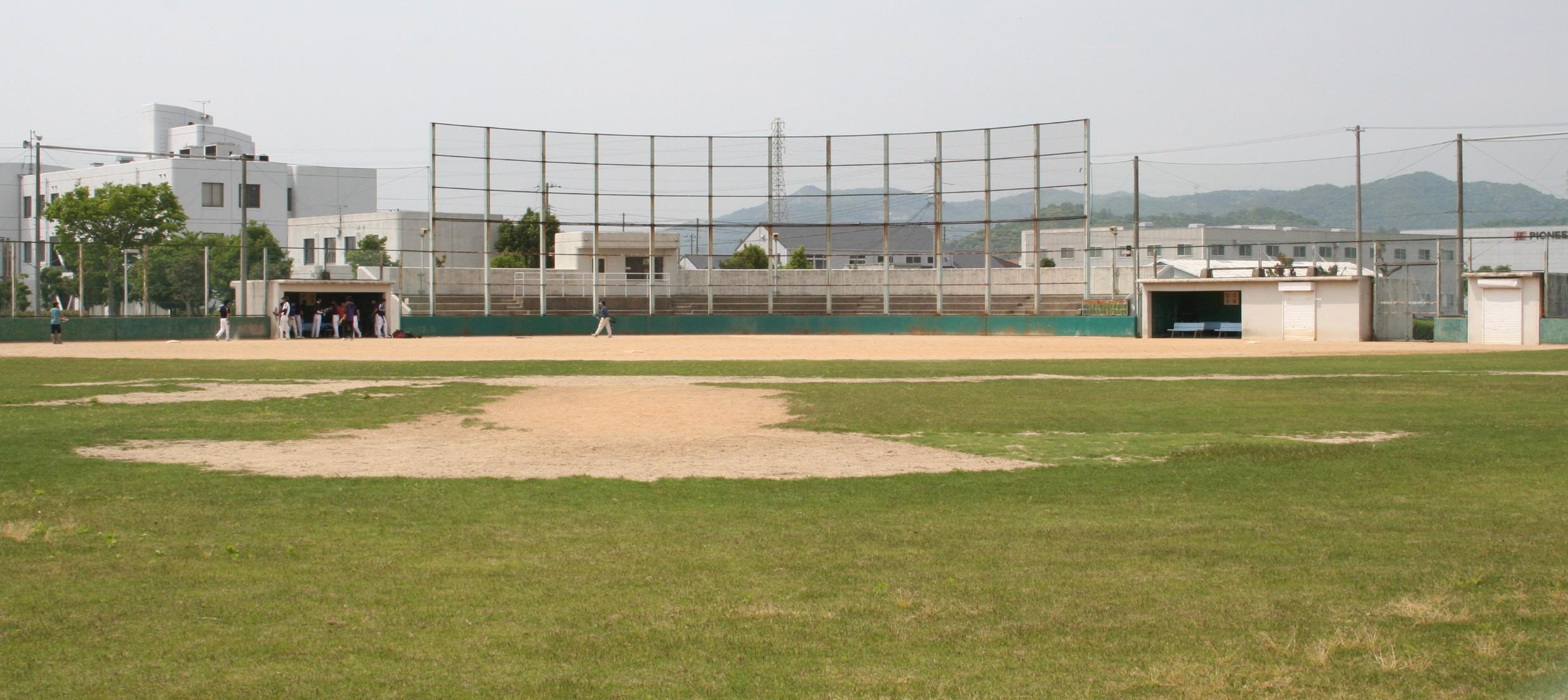 球技スポーツセンター野球場画像