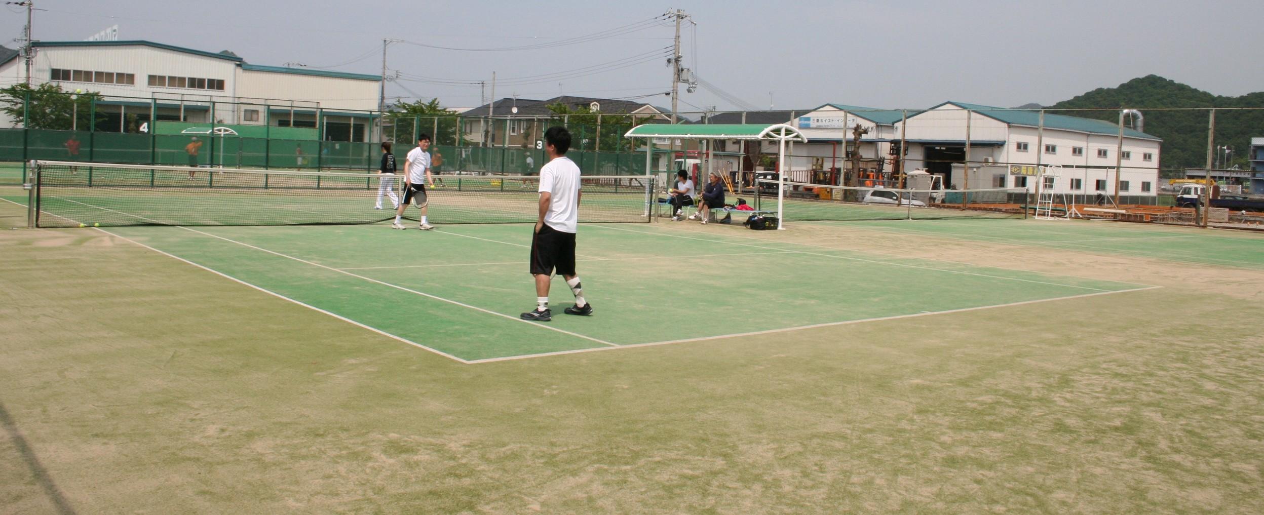 球技スポーツセンターテニスコート画像