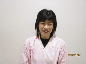 少年少女バドミントン教室(花北) 宮本 敬子 講師 写真