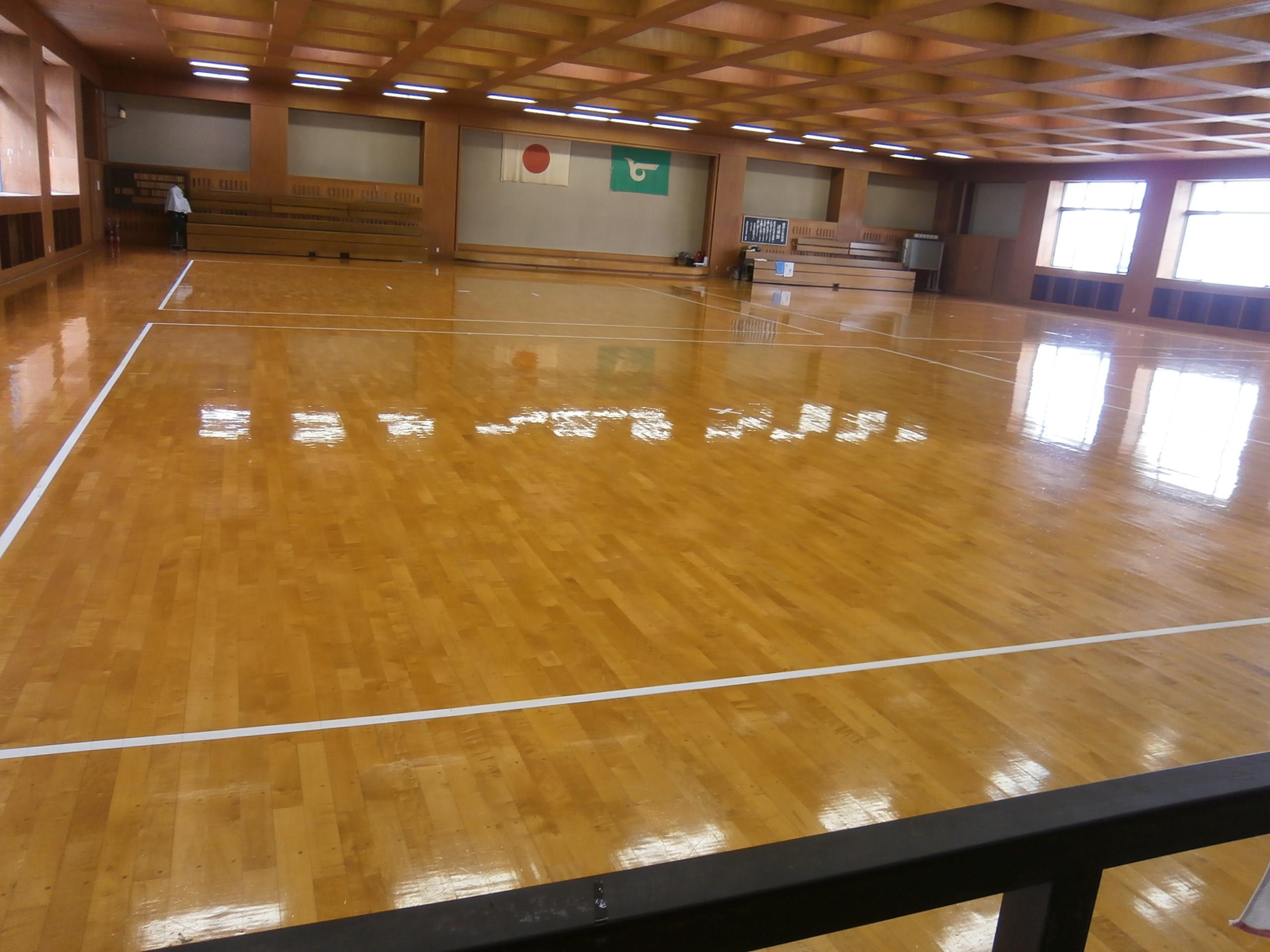総合スポーツ会館剣道場画像