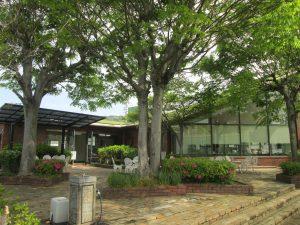 姫路書写テニスコート中庭画像