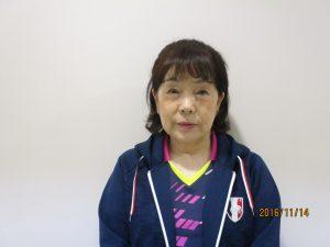 卓球教室(花北)福本 妙子 講師 写真