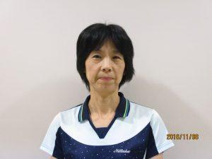 卓球教室(花北)市川 久美子 講師 写真