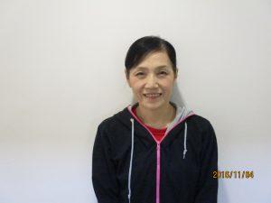 卓球教室(花北)大西 郁子 講師 写真