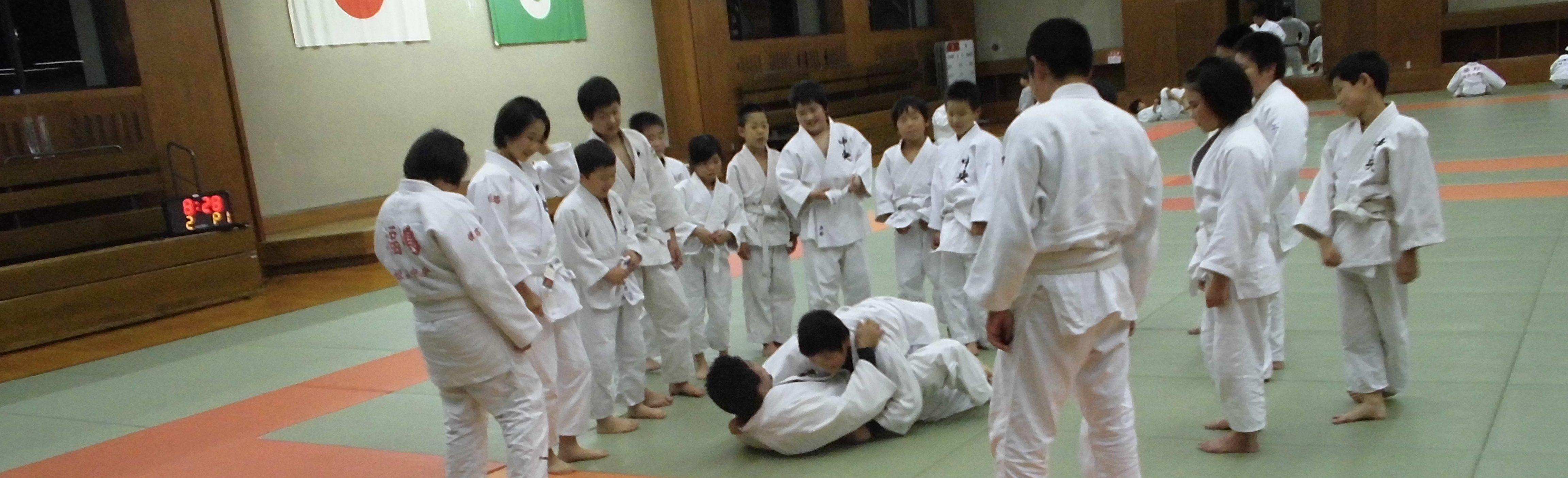 柔道教室イメージ画像