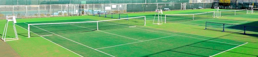 姫路書写テニスコートイメージ画像
